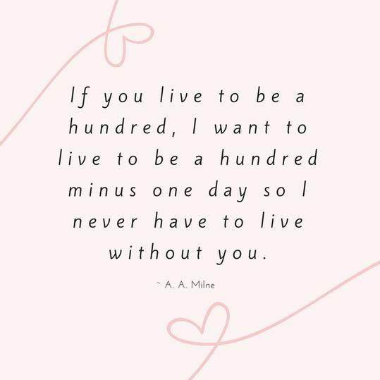 A. A. Milne Love Quote
