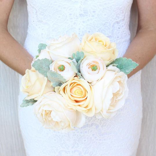 Ranunculus Wedding Bouquets Peach