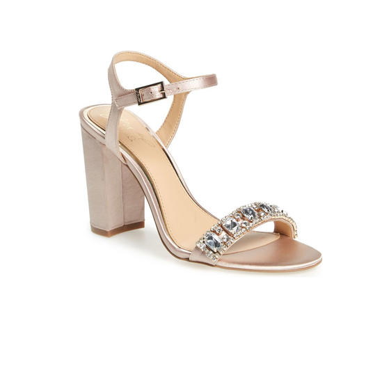 Good Badgley Mischka Block Heel