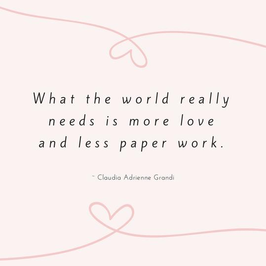 Claudia Adrienne Grandi Love Quote