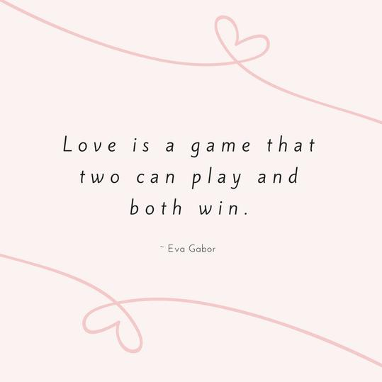 Eva Gabor Love Quote