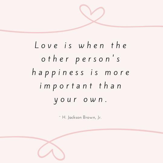 H. Jackson Brown, Jr. Love Quote