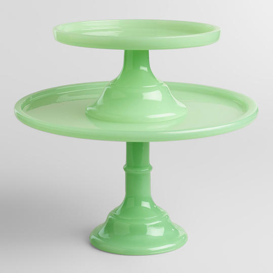 World Market Jade Cake Stand & 7 Beautiful Cake Stands Every Southern Hostess Needs - Southern Living