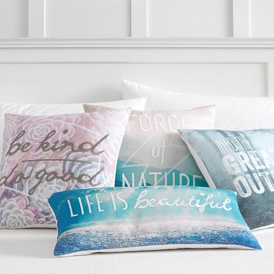 Nature Photoreal Pillow Covers