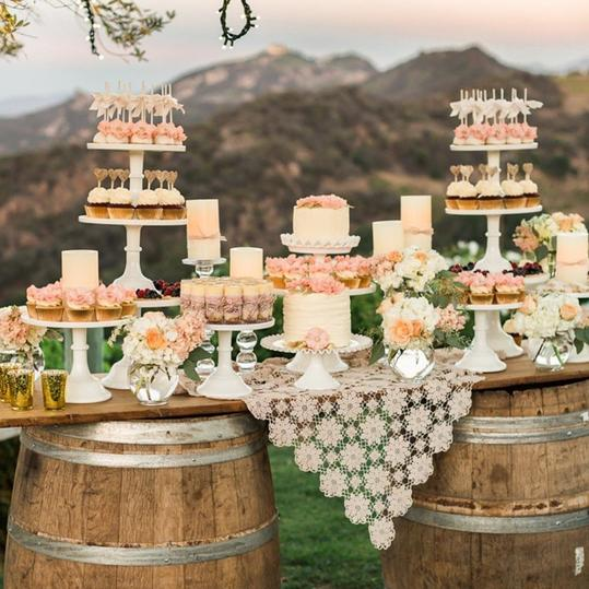 The Top Wedding Trends for 2017 Wedding Cake Alternatives