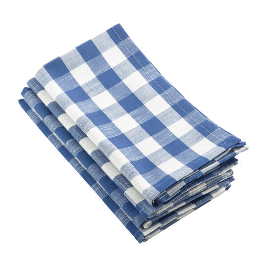 Gingham Dinner Napkins (set of 4)