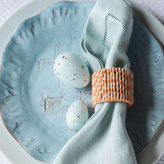 Simple and Sweet Napkin Rings