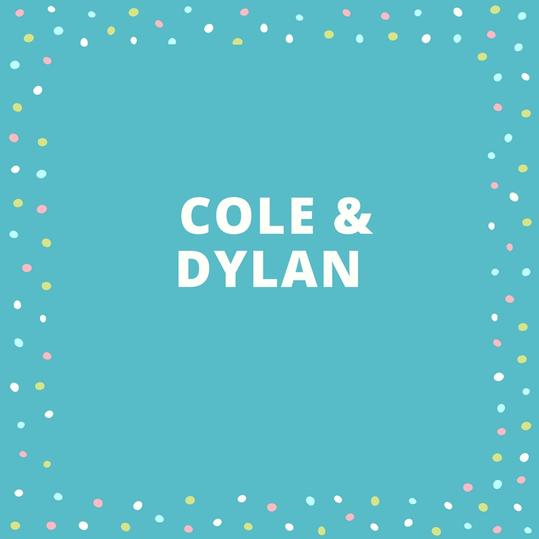 Cole and Dylan