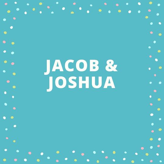 Twin Names: Jacob and Joshua