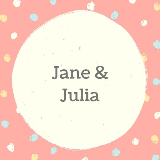 Twin Names: Jane and Julia