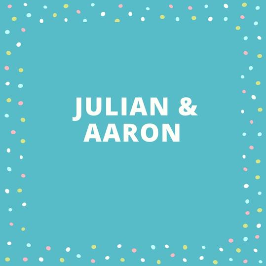 Twin Names: Julian and Aaron