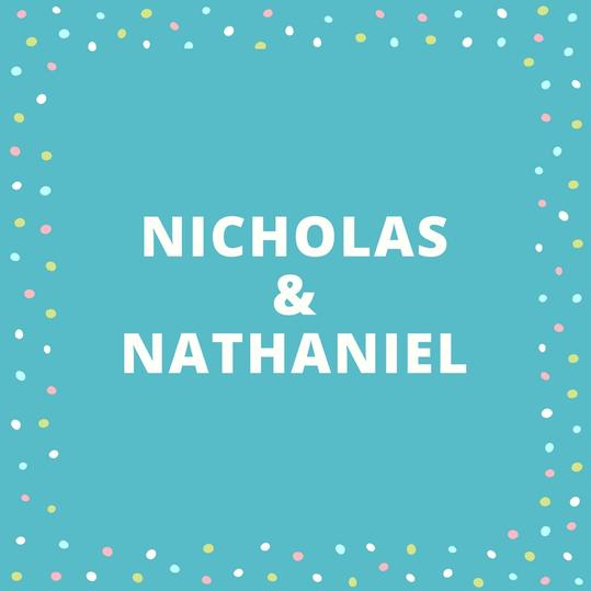 Twin Names: Nicholas and Nathaniel
