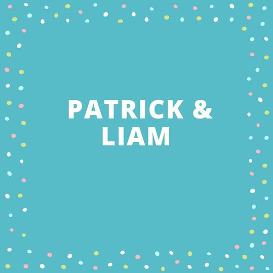 Twin Names: Patrick and Liam