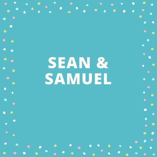 Twin Names: Sean and Samuel