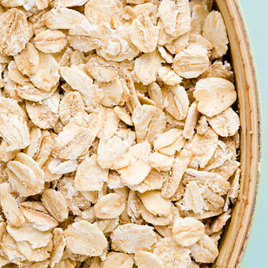 Bowl of Dried Oatmeal