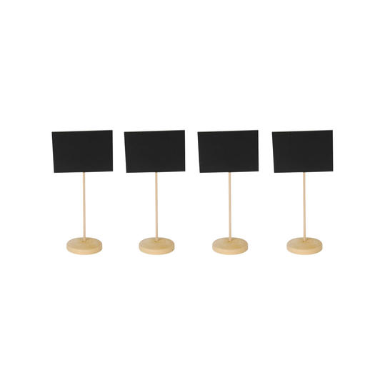 Black Placecards