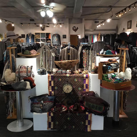 High Country Boutique Store Interior