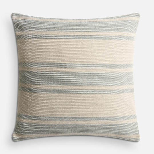 Magnolia Home Carter Aqua & Ivory Pillow