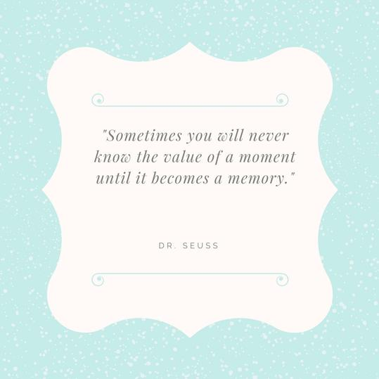 Dr Seuss Memory: Our Favorite Dr. Seuss Quotes