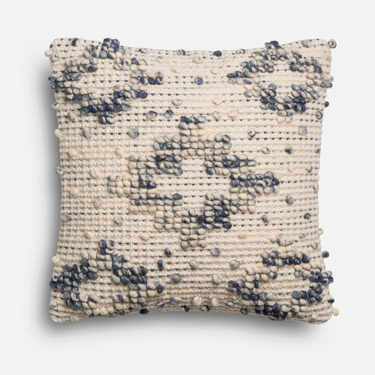 Magnolia Home Lexi Blue & Ivory Pillow