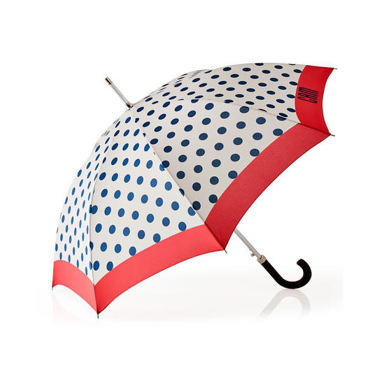 Shedrain Polka Dot Monogram Umbrella