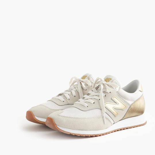 Gold and Tan New Balance