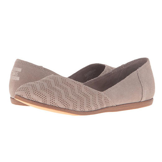 RX_1703_Travel Friendly Walking Shoes_Suede Chevron TOMS Flats
