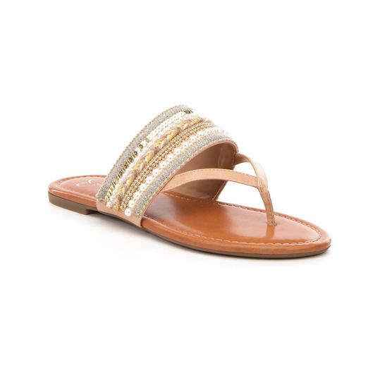 Jessica Simpson Braided Ronette Beaded Sandals