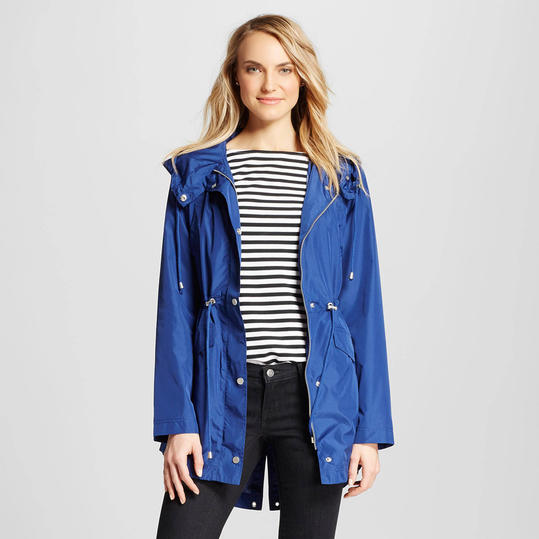 Merona Blue Raincoat