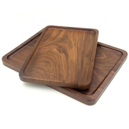 Bamber Wood Rectangular Serving Tray