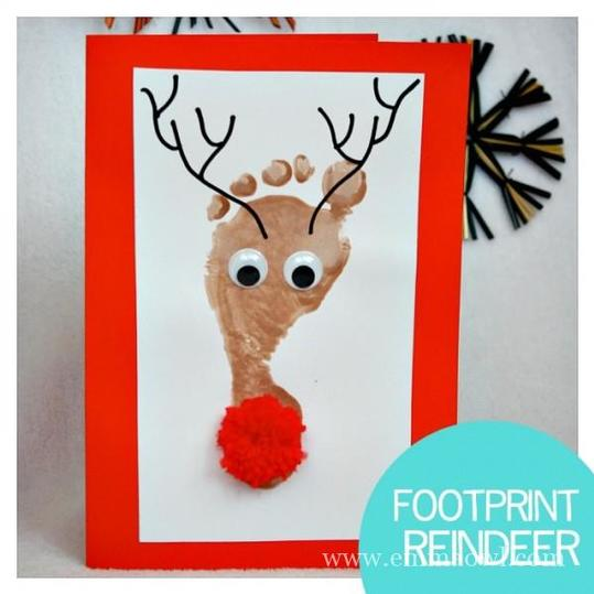Footprint Reindeer