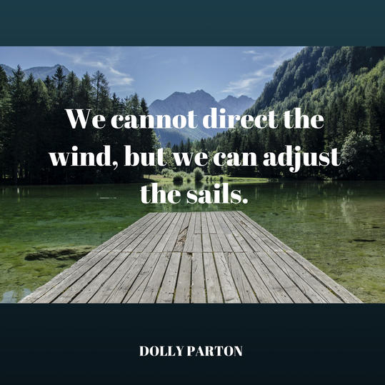 Adjust Your Sails Quote