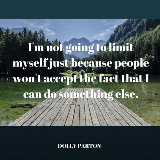 Dolly on Limiting Herself