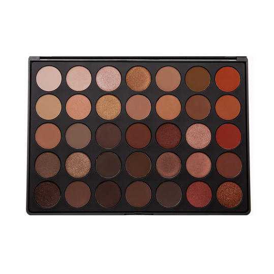 Morphe 35 Color Nature Glow Eyeshadow Palette