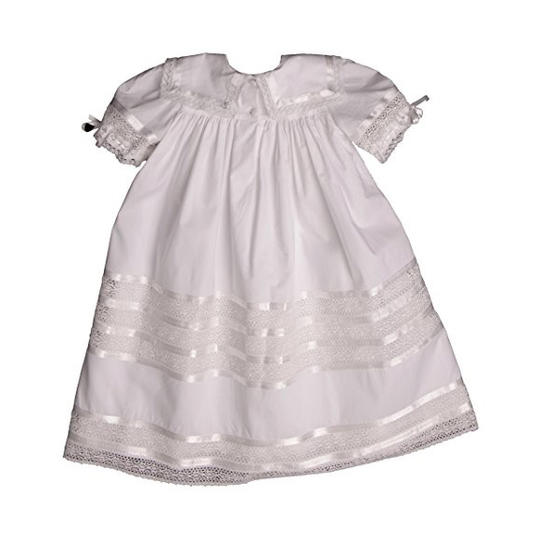 RX1706_ Most Adorable Flower Girl Dresses Amazon Strasburg Children's White Lace Dress