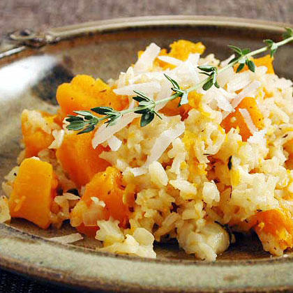 18 rice bake recipes we are loving southern living baked rice with butternut squash forumfinder Image collections