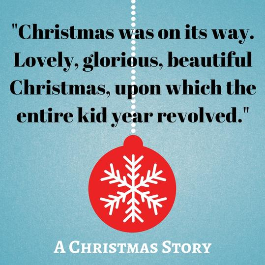 Christmas was on its way. Lovely, glorious, beautiful Christmas, upon which the entire kid year revolved.