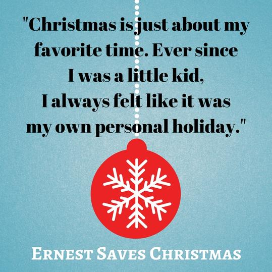 Christmas is just about my favorite time. Ever since I was a little kid, I always felt like it was my own personal holiday.