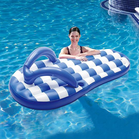 Flip Flop Inflatable Pool Float