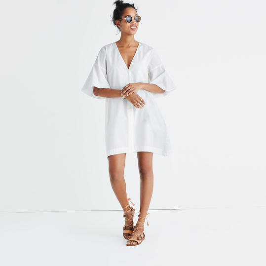 Bell Sleeve Shirtdress