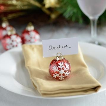 Stock Up On These Holiday Decorations Now Kirkland's Ornament Place Card Holder