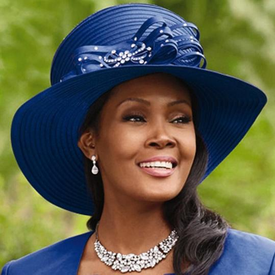 Tiered Lace 'n' Shine Church Hat