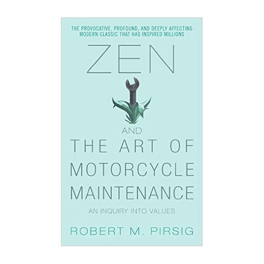 RX_1706_Classic Books to Reread This Summer_Zen and the Art of Motorcycle Maintenance by Robert M. Pirsig