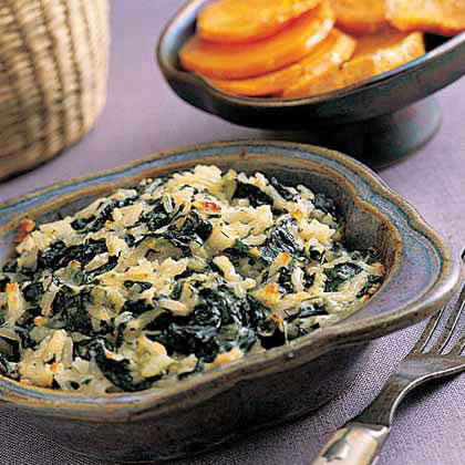 RX_1706_Rice Bake Recipes We Are Loving_Rice-and-Spinach Gratin with Dill