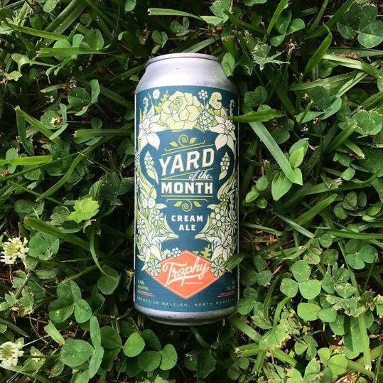Trophy Brewing Yard of the Month