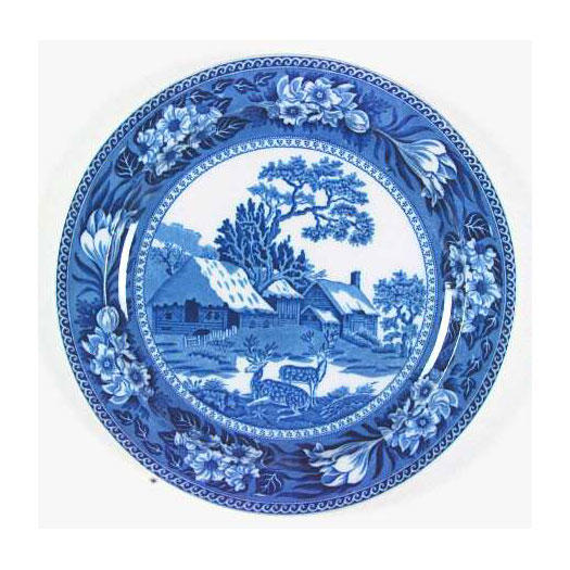 Wedgwood Fallow Deer  sc 1 st  Southern Living & Our Favorite Blue and White China Patterns - Southern Living