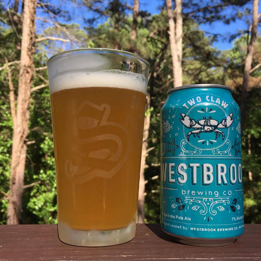 Westbrook Brewing Two Claw IPA