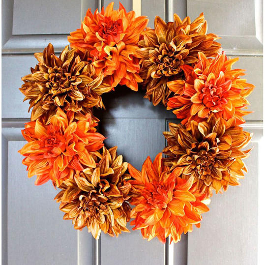 Bold Floral Wreath