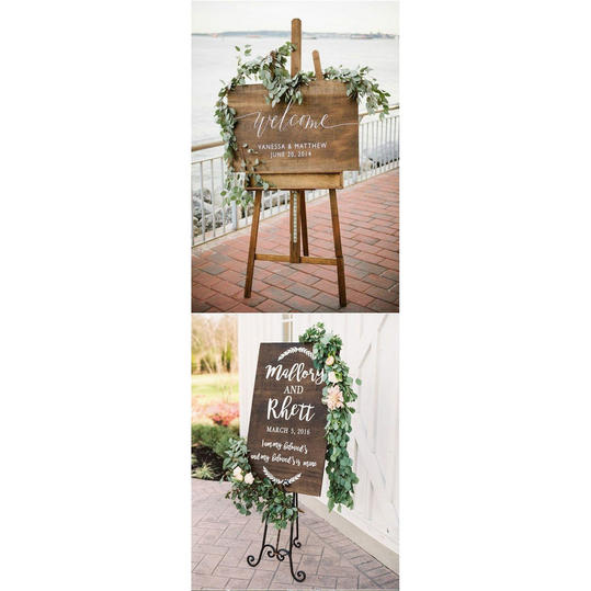 Hand-Lettered: Welcome Sign
