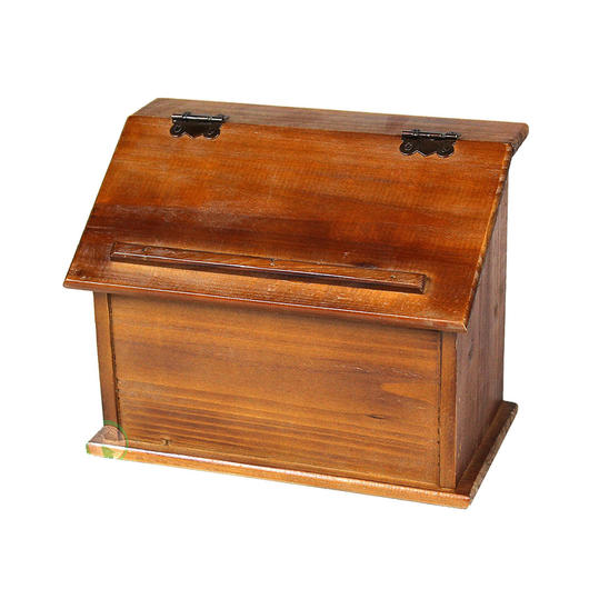 Our favorite recipe card boxes and why well always love our old vintiquewise old style wooden podium recipe bos thecheapjerseys Image collections